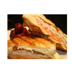 Friends Pizza Turkey Club Panini